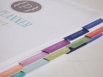 custom paper planner plum paper