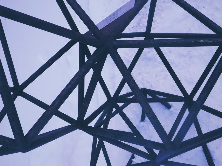 metal sculpture ames iowa