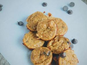 Healthy mini muffins