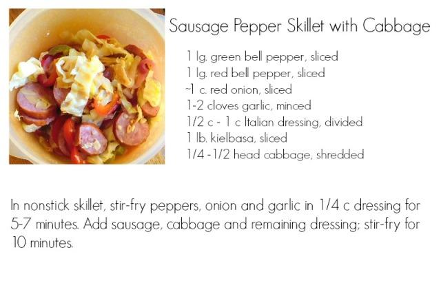 SausagePepperCabbage